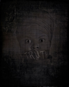 Title: Truth Artist: William Zuback 2013, model: Naomi Williams